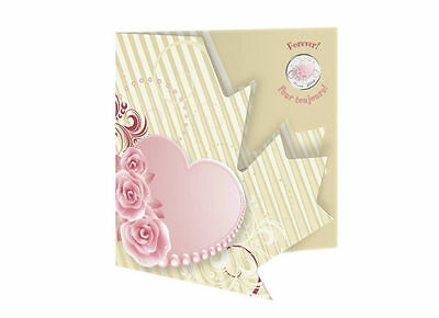 Canada 2010 Wedding FOREVER Colored 25 Cent Heart & Roses RCM 7 Coin Gift Set