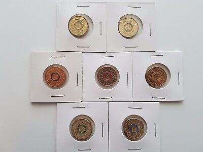 Full Set 2016 Olympic $2 Coins plus 2x Paralympic $2 Coins - UNC Security Bag