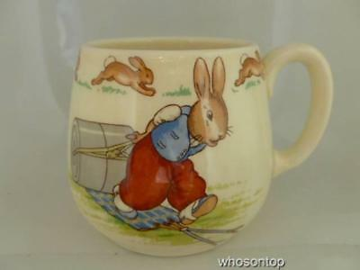 Royal Doulton Bunnykins - Pressing Trousers -  Don mug - 1937-67