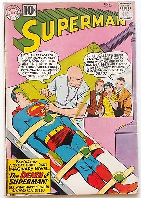 Superman #149 - The Death of Superman - 8th Legion Appearance - HIGHER GRADE!