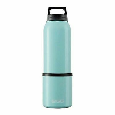 Sigg Water Bottle, Thermo, Hot & Cold, Classic Teal w/ Cup - .75 Liter