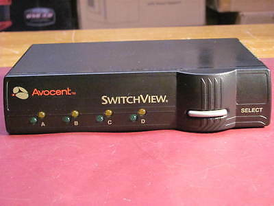 Avocent Switchview KVM Switch VGA/PS2 4 port
