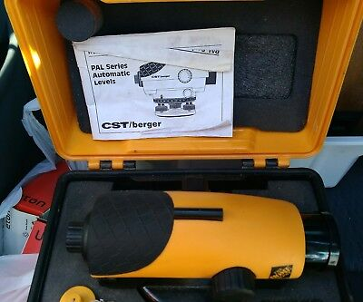 CST/berger PAL series 24x automatic level with case