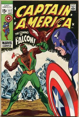 Captain America #117 - VF - 1st Appearance Of The Falcon