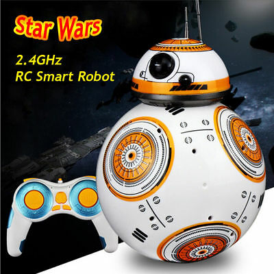 Star Wars BB-8 2.4G RC Smart Robot Rmote Control With Sound Toy Intelligent Ball