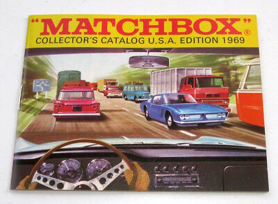 Lesney Matchbox Collector's Catalogue USA Edition 1969 Fred Bronner Excellent!