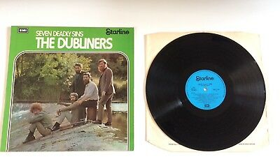The Dubliners – Seven Deadly Sins  - LP/Vinyl - Lots Listed