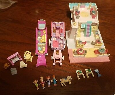 polly pocket vintage bluebird sets and dolls tested and works