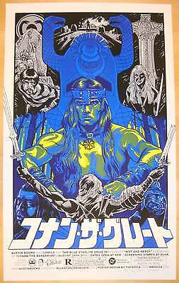 2011 Conan The Barbarian - Variant Silkscreen Movie Poster by Tim Doyle S/N