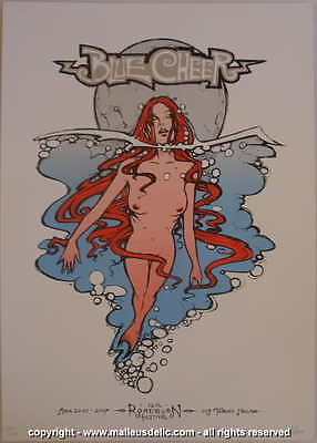 2007 Blue Cheer - Roadburn Festival Silkscreen Concert Poster s/n by Malleus