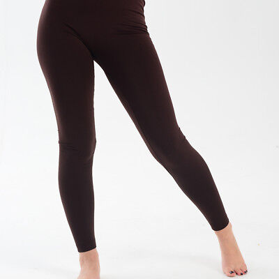 Leggings Womens Girls Thermal Fleece Seamless with Brushed Inside One Size fits