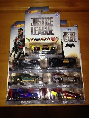 NEW Lot of 7 DC Justice League Wal-mart Exclusive 2017 2018 Wonder Woman Flash