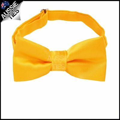 Marigold / Bumblebee Yellow Boys Bow Tie Boy's bowtie kids junior