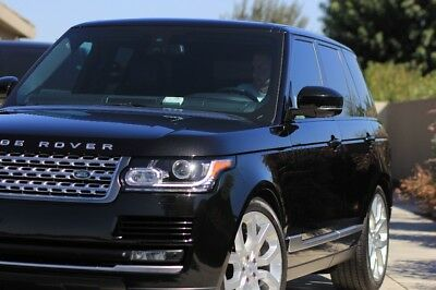 2015 Land Rover Range Rover Supercharged Range Rover