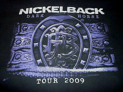 Nickelback 2009 Tour Shirt ( Used Size XL ) Good Condition!!!