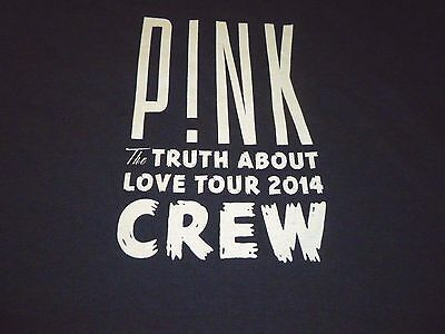 Pink Crew Tour Shirt ( Used Size XL ) Very Nice Condition!!!