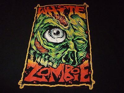 White Zombie Vintage 1997 Shirt ( Used Size L ) Very Nice Condition!!!