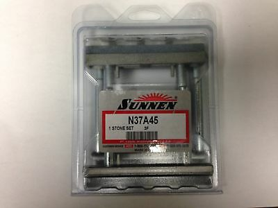 """Sunnen N37A45 stone set 3.5"""" to 5.5"""" 150 grit LOT of 6"""