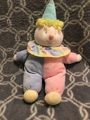 "Eden Vintage Clown Pastel 18""  Baby Plush Stuffed Toy (145)"