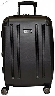 """Kenneth Cole Reaction 8 Wheelin Expandable Luggage Spinner Suitcase 20"""""""