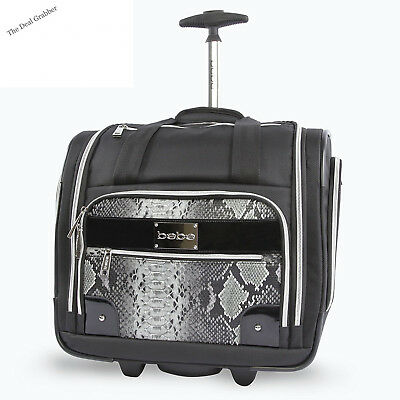 BEBE Tiana-Wheeled Under the Seat Carry on Bag