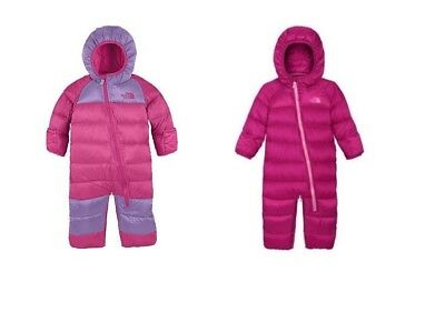 $150 TNF The North Face Baby Boys Snugle 550 Down Snowsuit Bunting Jacket 18-24M