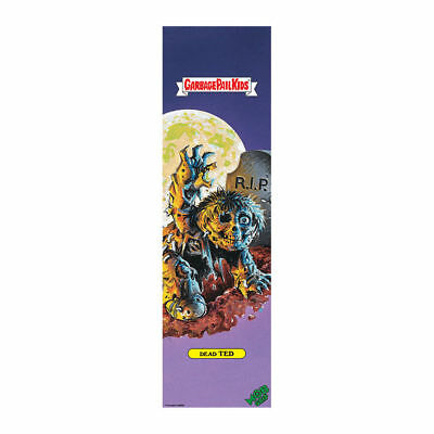 "Mob Garbage Pail Kids Skateboard Grip Dead Ted 9"" x 33"""
