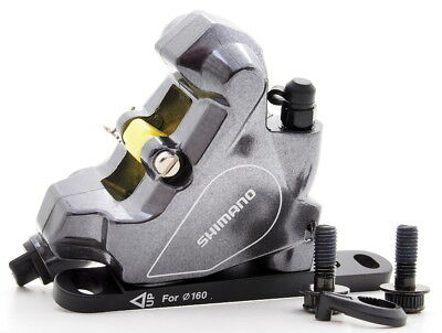 Shimano Road/Cyclocross BR-RS805 Disc Brake Caliper w/ Front Flat Mount Adapter