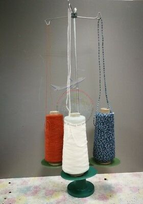 3 Cone Holder Yarn Wool Stand Dispenser For Yarn Ball Winder