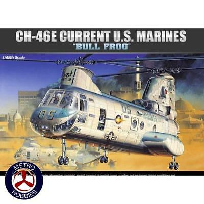 Academy 1/48 CH-46 Bull Frog Sea Knight 12283 Brand New