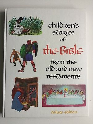 Vintage 1968 Mint Condition/ Brand New  Children's Stories Of The Bible