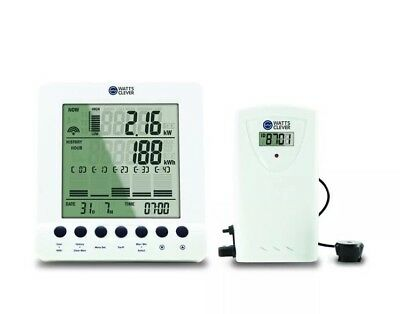 Watts Clever EW4500 Wireless Smart Energy Monitor In Home Display