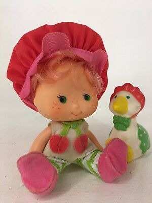 Vintage 1980s Strawberry Shortcake - Cherry Cuddler with Gooseberry