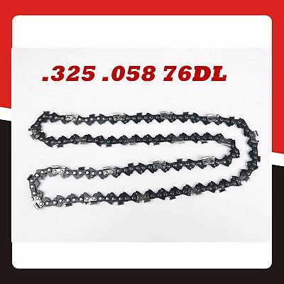 """Chainsaw Chain Replacement .325 .058 76DL for 20"""" Bar Replacement Spare Parts"""