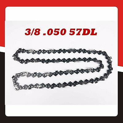 "Chainsaw Chain Replacement 3/8 .050 57DL for 16"" Bar Replacement Spare Parts"
