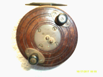 Vintage Marlin fishing reel, Australian made.