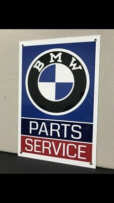 BMW Vintage Reproduction Garage Sign
