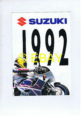 Catalogue Suzuki 1992 gamme (France)