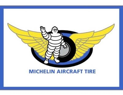 Garage Michelin Air Craft Tire  Gas Oil Reproduction Mancave Sign