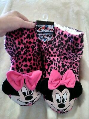 Minnie Mouse Slippers ladies