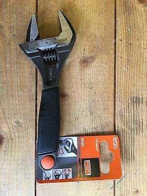 Bahco 9029 Ergo Wide Jaw Adjustable Wrench Spanner 6""