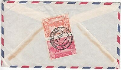 Burma: 6th Buddhist Council Airmail; Rangoon Secretariat to Bromley, 11 Nov 1955