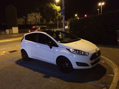 Ford Fiesta 100 Eco Boost Black And White Edition 2016 11 800 Kms 5 Portes