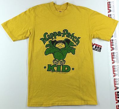 Vintage 1984 Nappa-Patch Kid T-Shirt Size S Small 80's SOFT Cotton Stedman