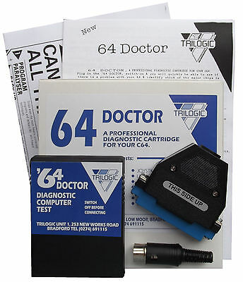 Commodore 64 TriLogic Doctor 64 - Port Testers, Manual & FREE Repair Guide
