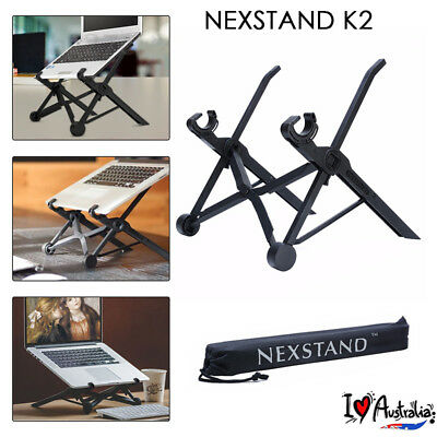 AU NEXSTAND Adjustable Folding Laptop Notebook Table Desk Stand Mount Holder B