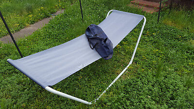 Hammock and collapsable frame