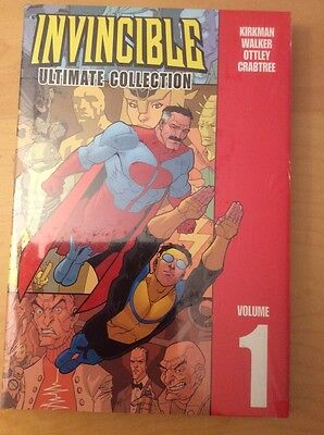 Invincible Ultimate Collection Hardcover, Hc Vol 1 & 2, Unopened & Sealed