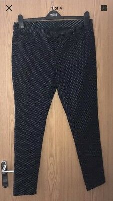 marks and spencer Spotted Jeans Size 16
