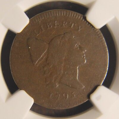1795 Capped Liberty Half Cent, C-5a, R-3, VG-10